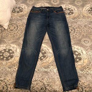 White House Black Market- Skimmer Jeans with vegan
